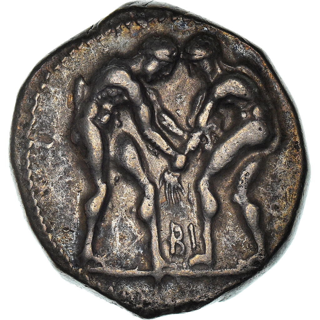 Coin, Pamphylia, Aspendos, Stater, 380-330 BC, Aspendos, , Silver